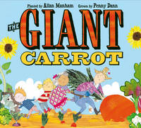The Giant Carrot by Penny Dann image
