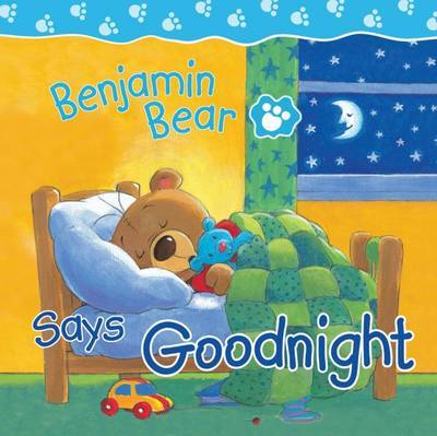 Benjamin Bear Says Goodnight by Claire Freedman image