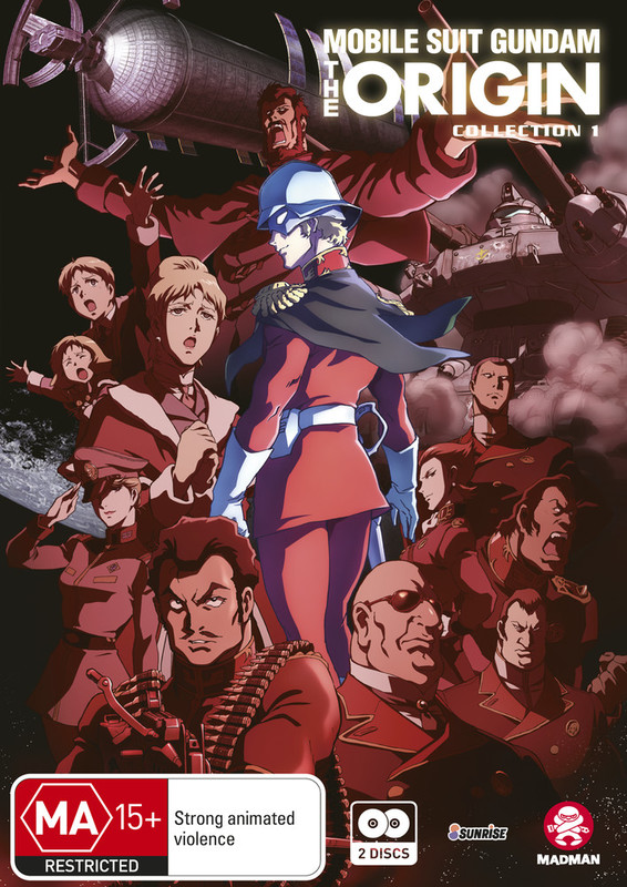 Mobile Suit Gundam: The Origin - Collection 1 (Episodes 1-4) on DVD