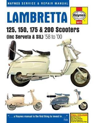 Lambretta Scooters (1958 - 2000) by Phil Mather