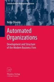 Automated Organizations by Nelio Oliveira