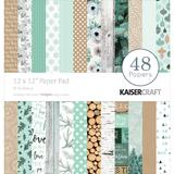 Kaisercraft: Mint Wishes 12x12 Paper Pad