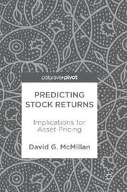 Predicting Stock Returns by David G McMillan