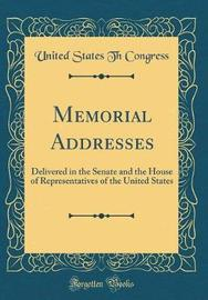 Memorial Addresses by United States Th Congress image