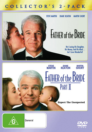 Father Of The Bride / Father Of The Bride Part II - Collector's 2-Pack (2 Disc Set) on DVD image