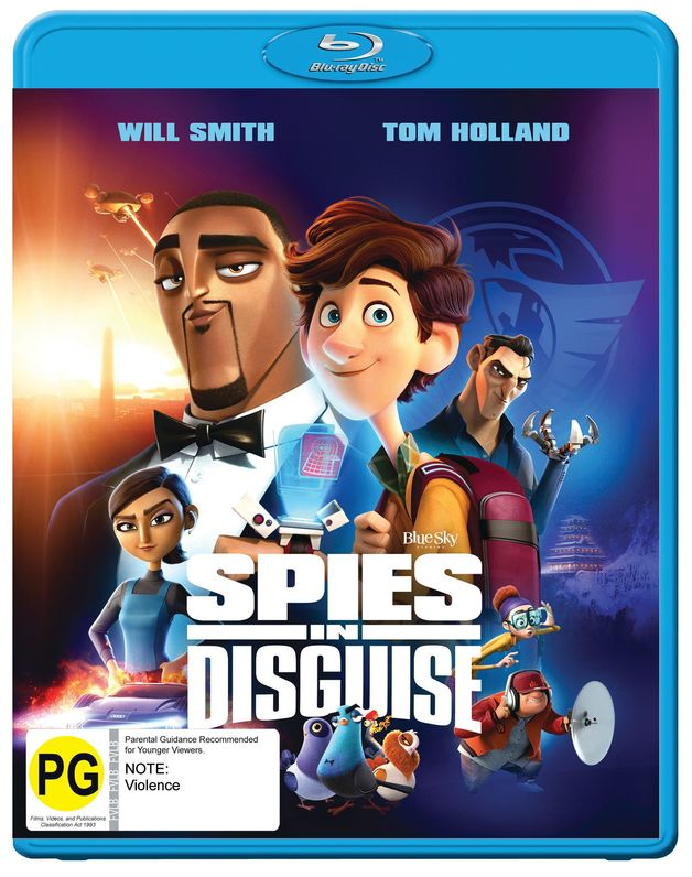Spies in Disguise on Blu-ray