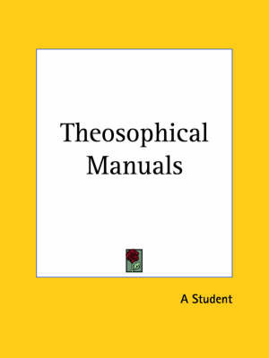 Theosophical Manuals (1911) by A Student image