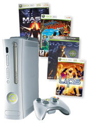 Xbox 360 60GB Bundle (with 4 Games!) for Xbox 360