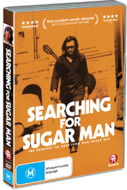 Searching For Sugar Man on DVD image