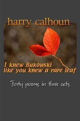 I Knew Bukowski Like You Knew A Rare Leaf by Harry Calhoun