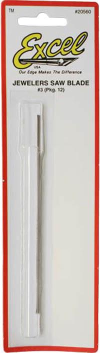 Excel Jewellers Saw Blades #3 (12pk)