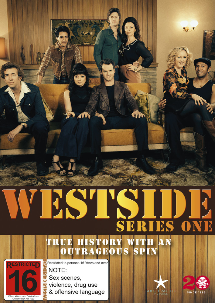 Westside - The Complete Series One on DVD image