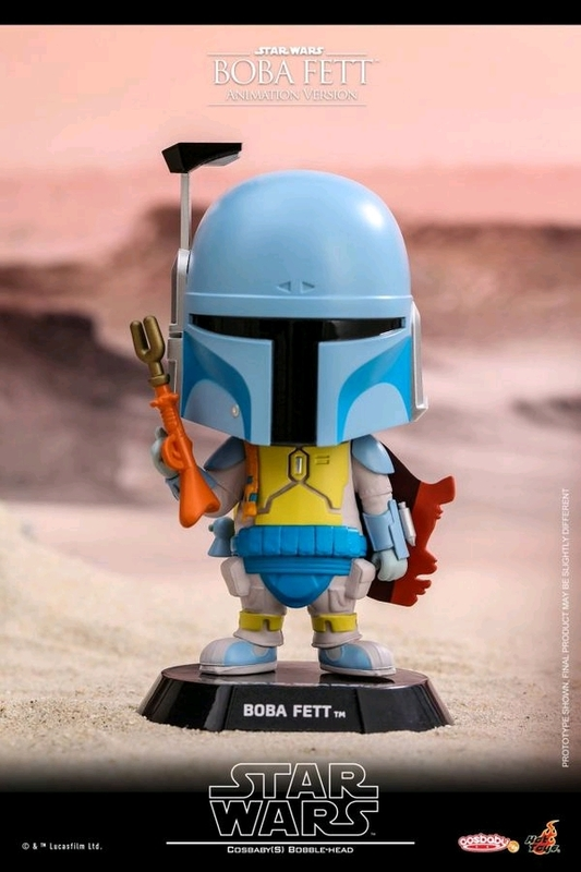 Star Wars: Boba Fett (Animated) - Cosbaby Figure