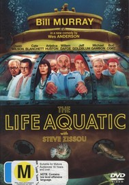 Life Aquatic With Steve Zissou on DVD
