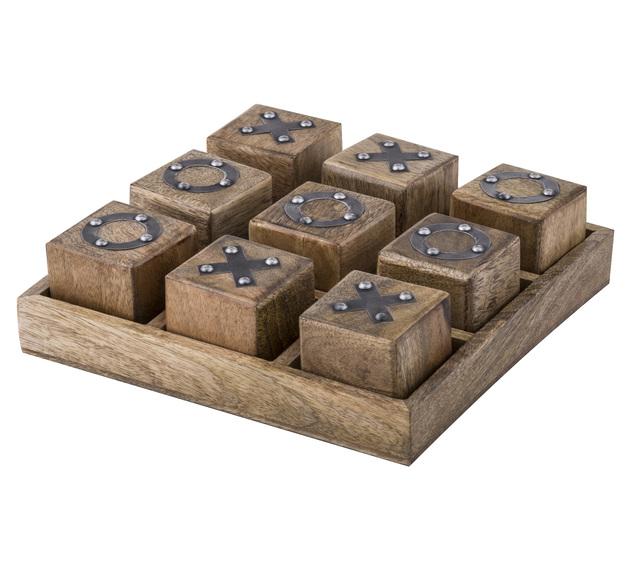Amalfi: Noughts & Crosses Game (25x25x7.5cm)