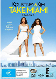 Kourtney & Kim Take Miami - Season 3 on DVD
