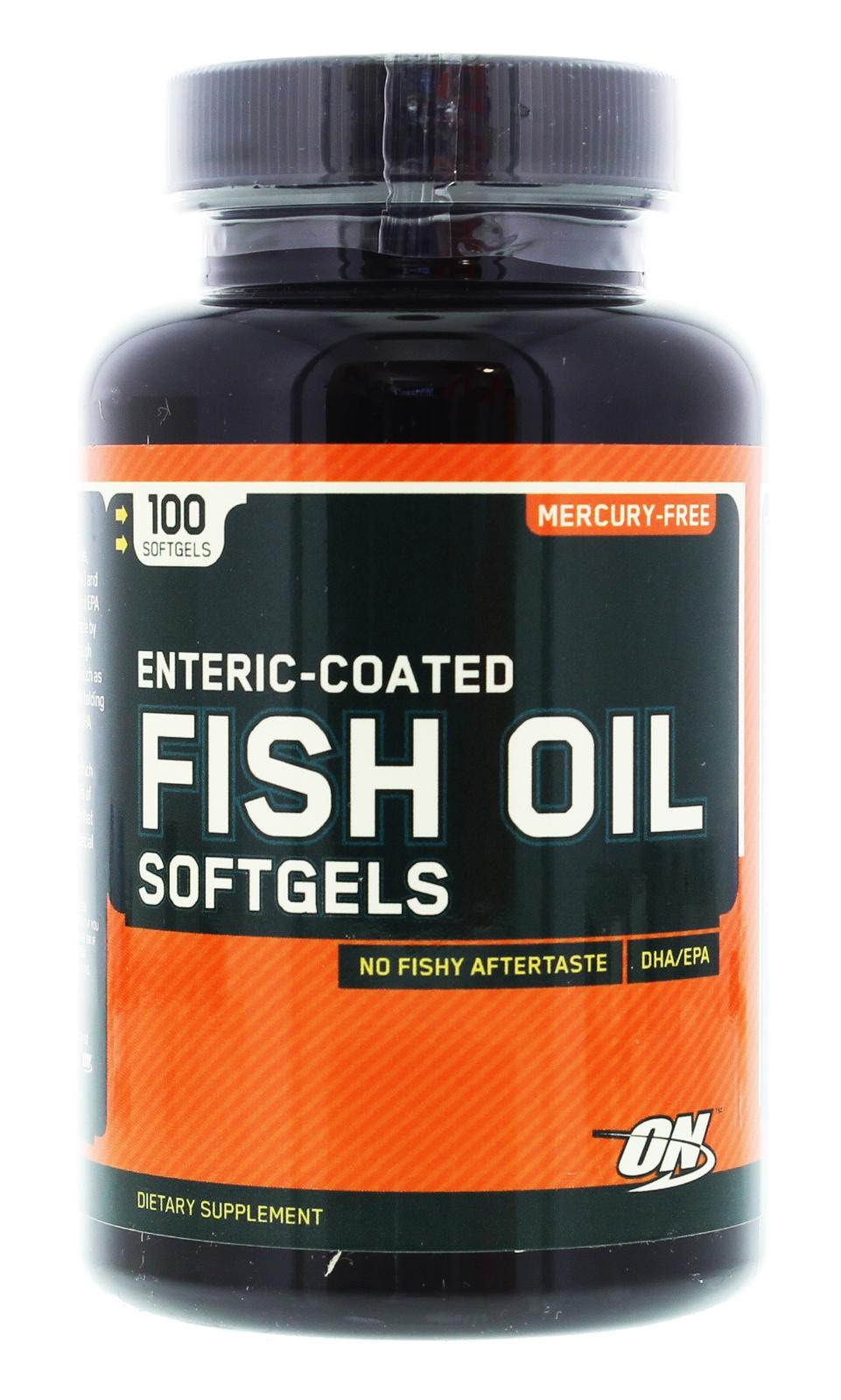 Optimum Nutrition Fish Oil (100 Caps) image