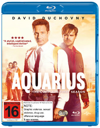 Aquarius - The Complete First Season on Blu-ray