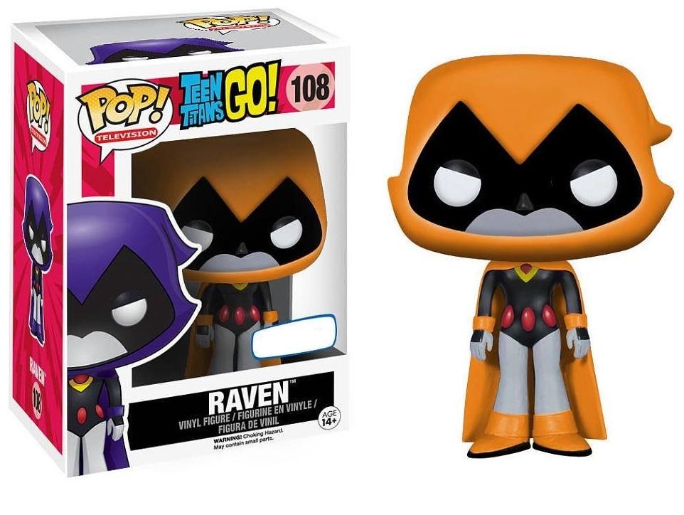 Teen Titans Go! - Raven (Orange) Pop! Vinyl Figure image