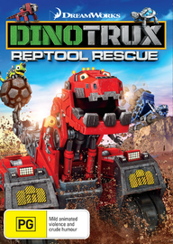 Dinotrux Reptool Rescue on DVD