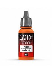 Vallejo Game Colour Orange Fire 17ml