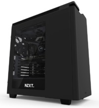 NZXT H440 Mid Tower Case 2015 Edition (Black/Black)