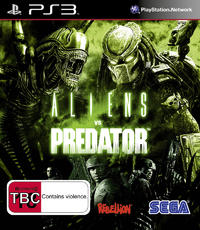Aliens vs Predator for PS3
