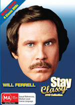 Will Ferrell - Stay Classy DVD Collection (Anchorman / Old School / Superstar / A Night At The Roxbury) (Box Set) on DVD