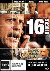 16 Blocks on DVD