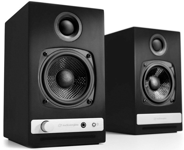 Audioengine: HD3 Powered Desktop Speakers (Pair) - Satin Black