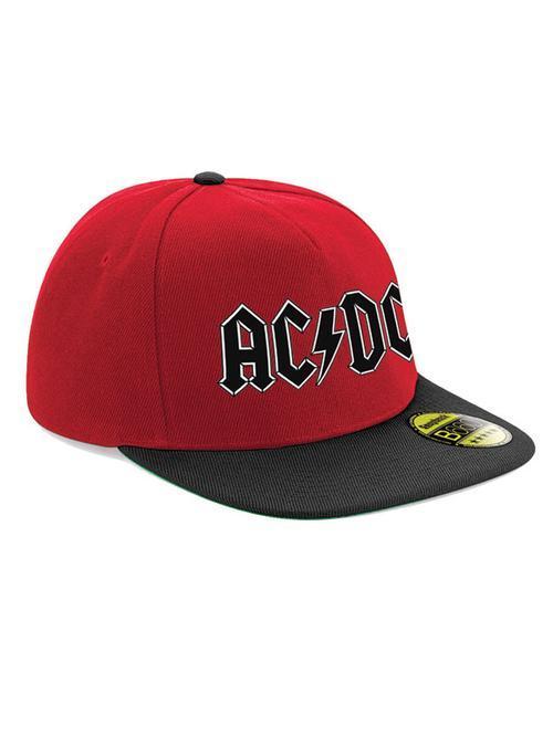 AC/DC - Black Logo Snapback