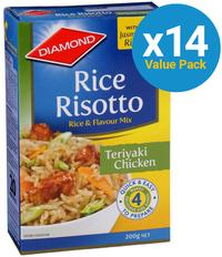 Diamond: Rice Risotto Teriyaki Chicken 200g (14 Pack) image