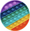 Popit: Fidget Toy - Rainbow Circle (Assorted)