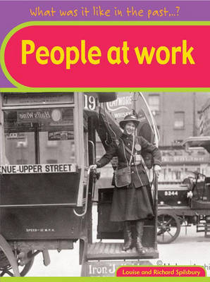 People at Work by Louise Spilsbury image