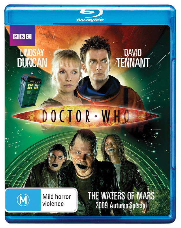 Doctor Who - The Waters of Mars on Blu-ray