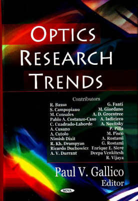 Optics Research Trends