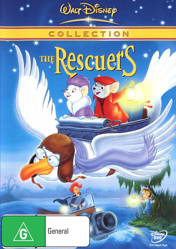The Rescuers (1977) on DVD