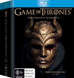 Game of Thrones - The Complete First, Second, Third, Fourth & Fifth Season Box Set on Blu-ray