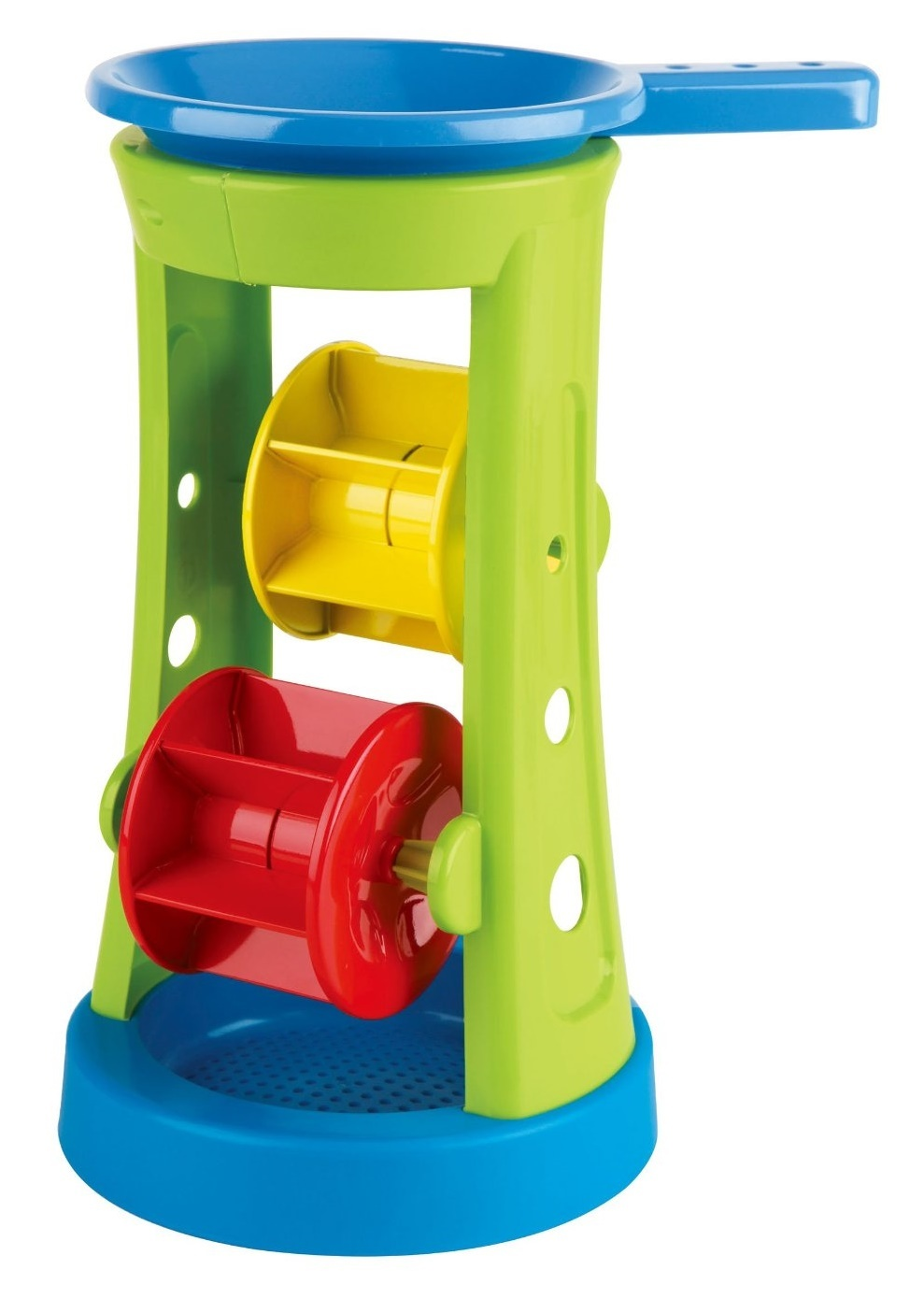 Hape: Double Sand & Water Wheel - Beach Toy image