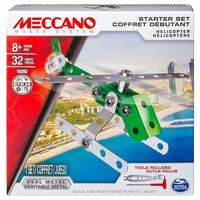 Meccano: 1 Model Starter Set - Helicopter