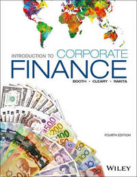 Introduction to Corporate Finance, 4th Edition by Laurence Booth image