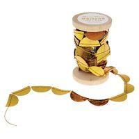 Mini Garland Spool - Gold Scallop