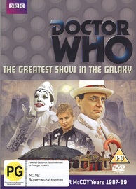 Doctor Who: The Greatest Show in the Galaxy on DVD