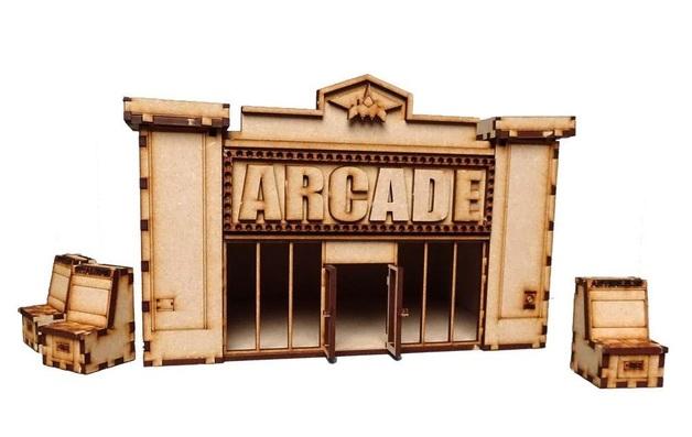 TTCombat: Tabletop Scenics – Arcade
