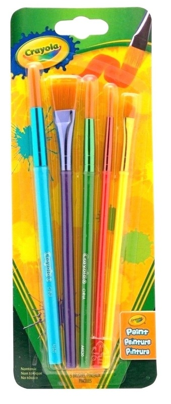 Crayola: Art & Craft - Brush Set (5-Pack)