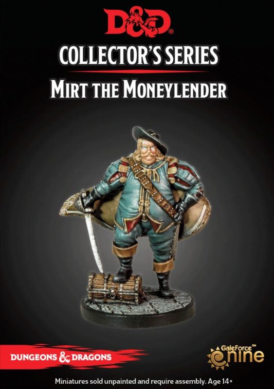 Dungeons & Dragons: Waterdeep Dragon Heist - Mirt the Moneylender