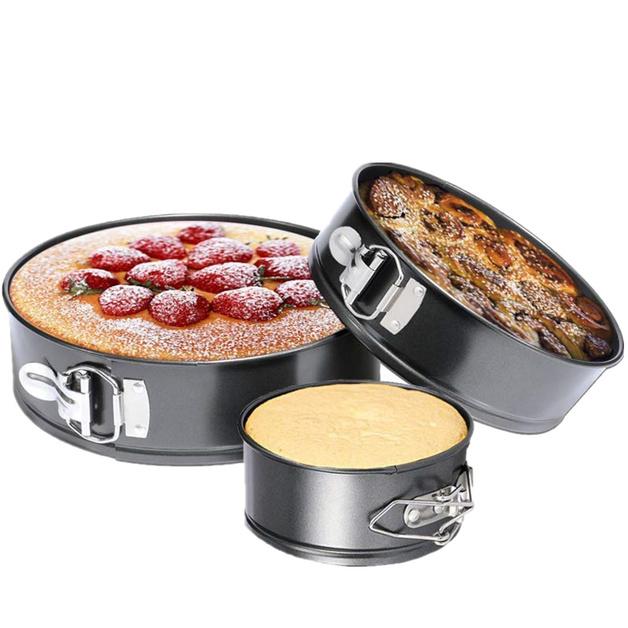 Ape Basics: Springform Cake Pans (3 Piece Set)