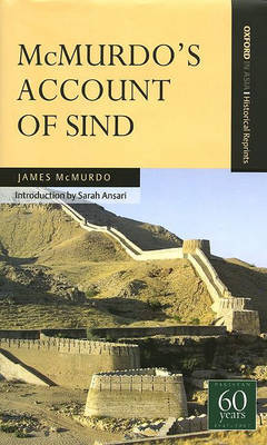 McMurdo's Account of Sind by James Mcmurdo image