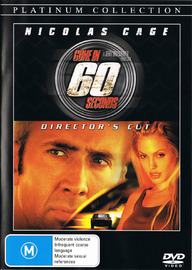 Gone in 60 Seconds - Directors Cut on DVD image
