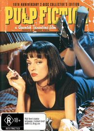 Pulp Fiction 10th Anniversary: Collector's Edition (2 Disc) on DVD image